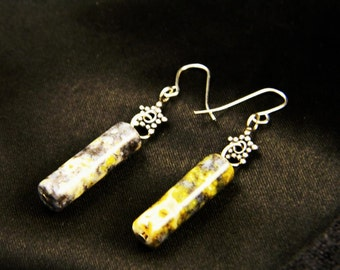 Madagascar Agate Earrings