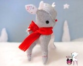 Baby Bright Star Reindeer - Holiday plush