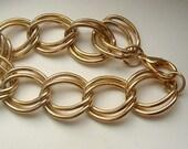 Vintage Large Double Link Bracelet