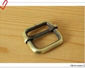 3/4 inch anti brass slider strap adjuster  purse bag makeing supplies 12pcs A63