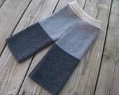 Lambswool and angora cloth diaper cover longies pants size MEDIUM
