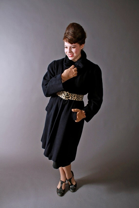 Vintage 1950s Vicuna Womens Coat Made of The Most Rare and Luxurious Fabric in the World
