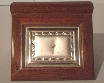 Vintage Arde Trinket Box - Made In Italy - Wood Trinket Box - Small Keepsake Box - Ring Box - Old Wood Box - Small Jewelry Box