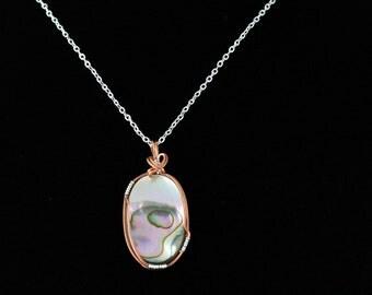 Abalone Shell Pendant. Listing 112435519