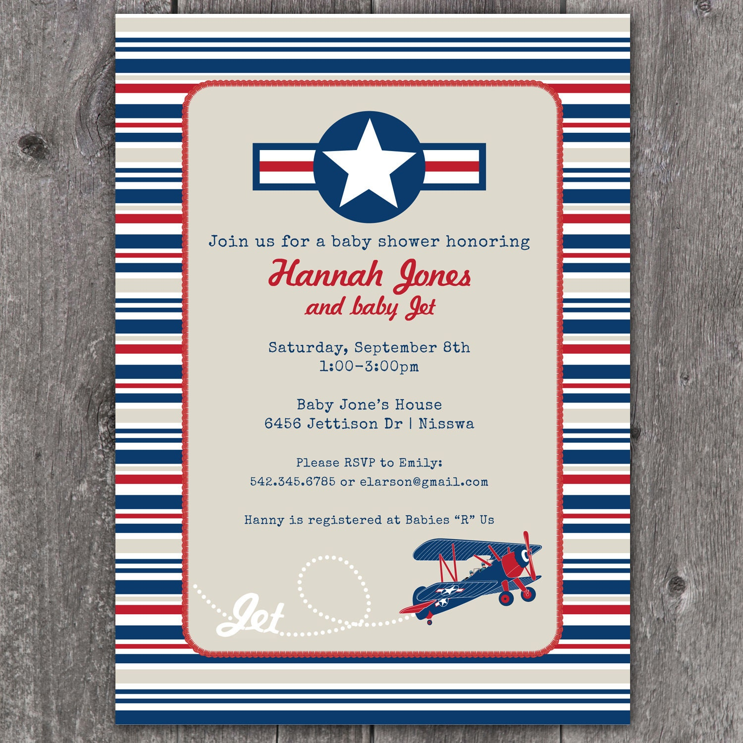 Airplane Invitations for amazing invitation layout