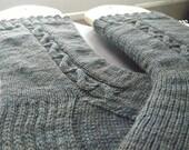 Brin Cable Knit Socks Knitting Pattern - Digital PDF Knitting Pattern -