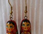 Russian nesting doll Earrings