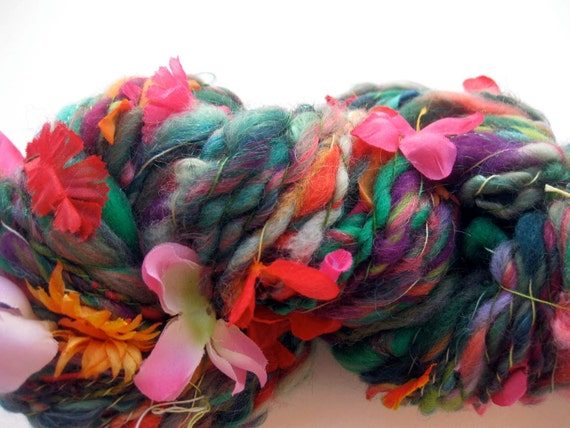handspun art yarn, Amazon