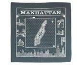Manhattan bandanna - gray