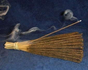 """Sweet Peppermint Hand Dipped 11"""" Incense"""