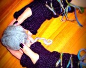Lace-Up Fingerless Gloves Pattern