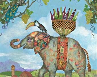 Wine Whimsy: Elephant Grape Crusher
