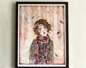 Limited Edition Print - Souvenir d'hiver 8/10