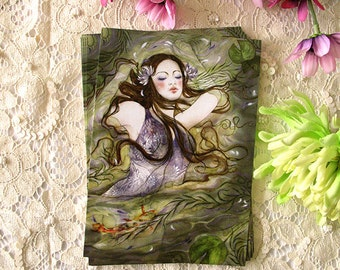 Postcard - Ophelia