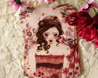 Postcard - Cherry Blossom