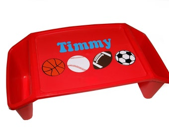Personalized Lap Tray - Sports