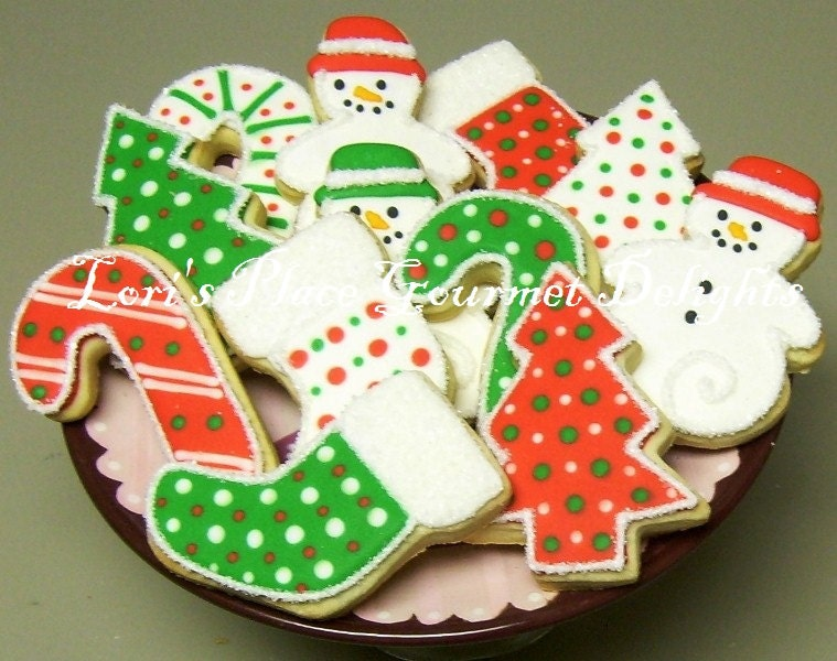 Reserved for LindseyCHRISTMAS COOKIE MIX Christmas by lorisplace