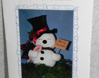 Sew Special pattern of snowman
