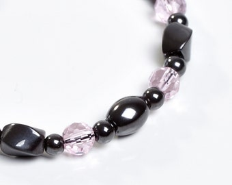 Pink Sparkle Magnetic Therapy Bracelet by Happy and Healthy