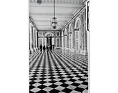 Walking in Black and White - French Architecture Versailles, France 4/4s iPhone case