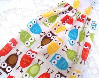 Plastic Bag Holder - Owls - Grocery Bag Dispenser - Kitchen Storage