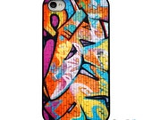 On Sale! Spray Paint Graffiti Black or White Sides iphone Case - Iphone 4, 4S, 5, 5S, 5C Hard Cover - Colorful Unique Trendy - artstudio54
