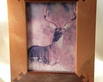 Hand-Rubbed Free Standing Hardwood Picture Frame