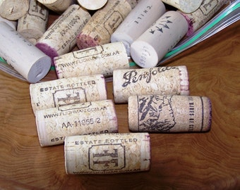 Wine Corks - 150 Count - Used Natural Corks