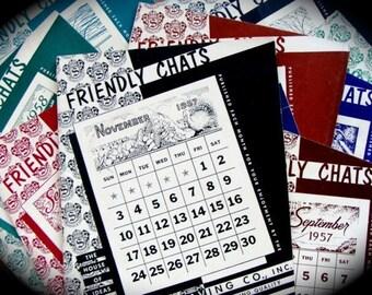 1950s Paper Ephemera Friendly Chats Booklet Lot
