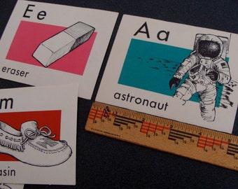 Large Vintage Flash Cards
