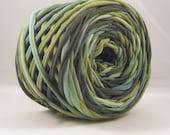 T Shirt Yarn Hand Dyed 60 yards - Jungle
