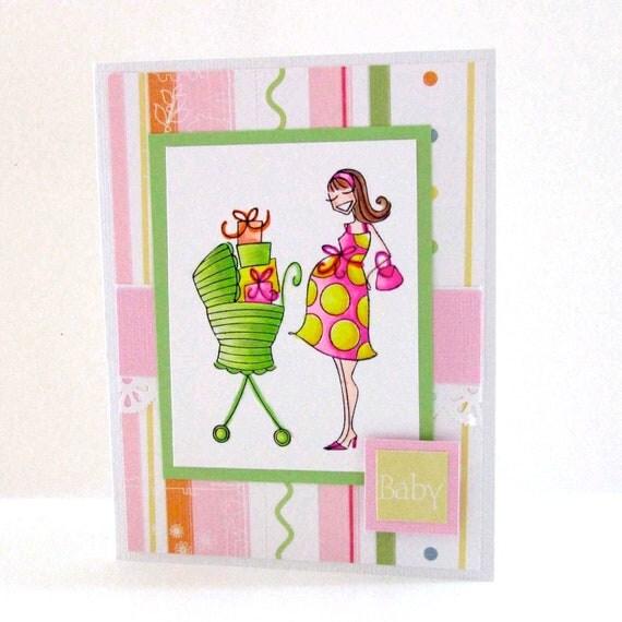 Pregabella Pregnancy Congratulations Card
