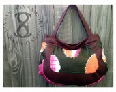Tribal Multicolor Bazin African Hobo Bag