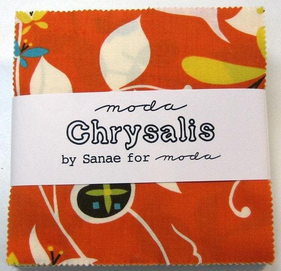 Chrysalis - by Sanae  for Moda Fabrics - Charm Pack - SALE