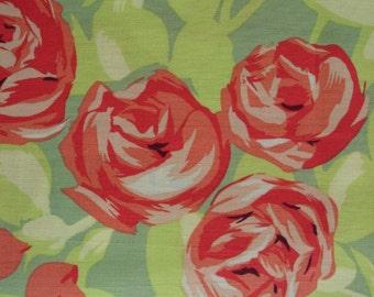 AMY BUTLER FABRIC Love Tumble Roses - 1 Yard - Westminster / Rowan #F17