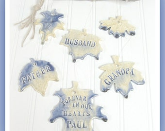 Memorial Wind Chime Personalized Family Tree