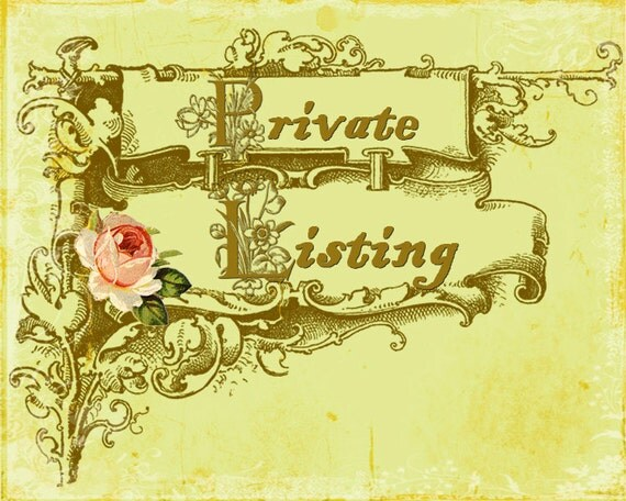 Private listing - 2 yards STR 1022CW