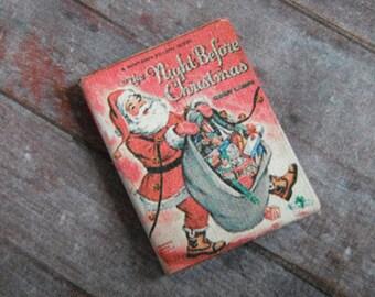 Miniature Book --- Night Before Christmas