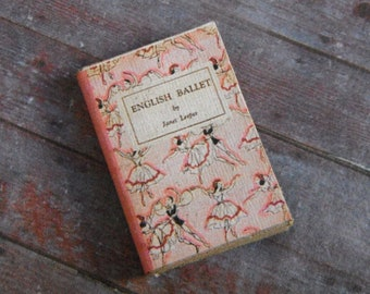 Miniature Book --- English Ballet