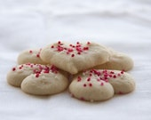 Butter Hearts Cookies - 3 dozen fresh baked cookies