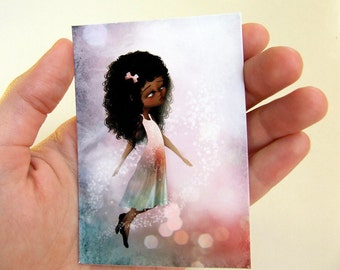 "ACEO/ATC - ""Surrender II"" - Artists Trading Card Premium Hahnemuhle Fine Art Mini Print 2.5x3.5"