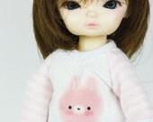 B091 - T-shirt and pants for hujoo baby / ai doll