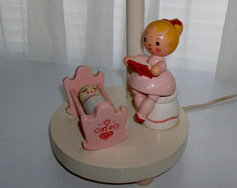 Story Time Wooden Table Lamp