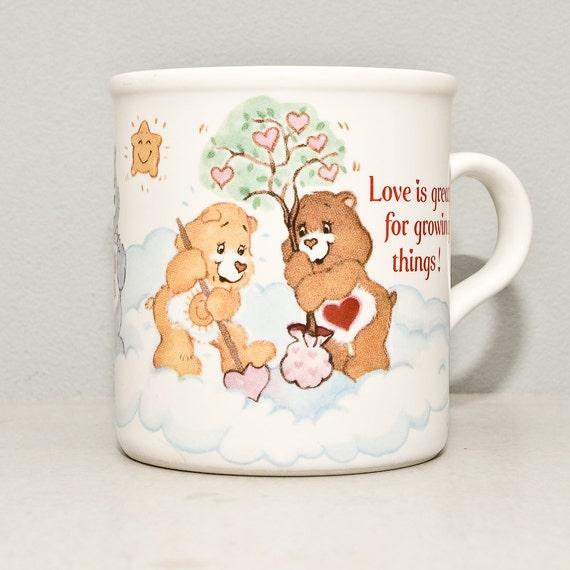 Care Bears Mug - Vintage 1980s