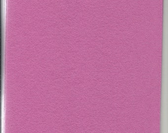 Pure Wool Felt Sheet - Old Pink - Various Sizes