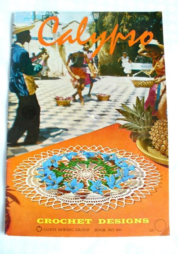 Vintage Crochet Pattern Booklet Calypso