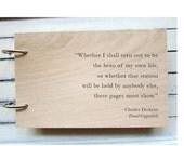 "CUSTOM LISTING - for caitlynwaltermire - Wood Notepad (4"" x 6"")"