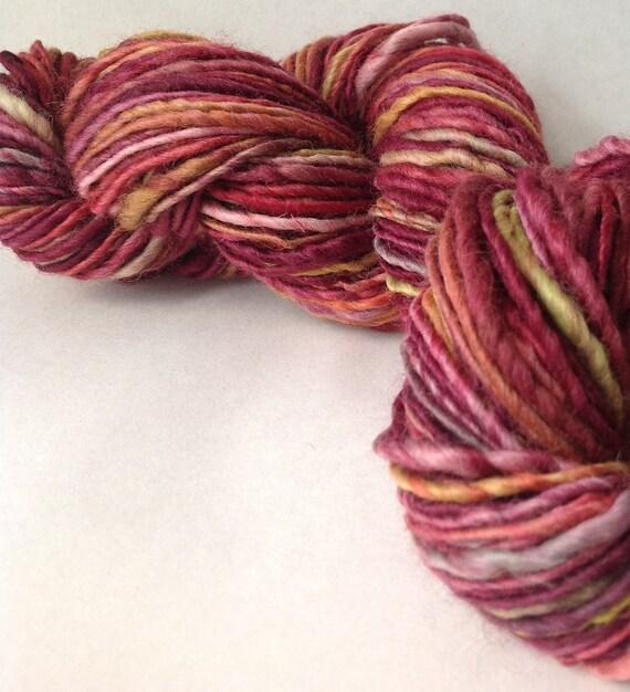 Bitter Honey - handspun yarn, worsted weight
