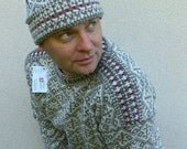 Classic Men's Fisherman Style Sweater of Estonia