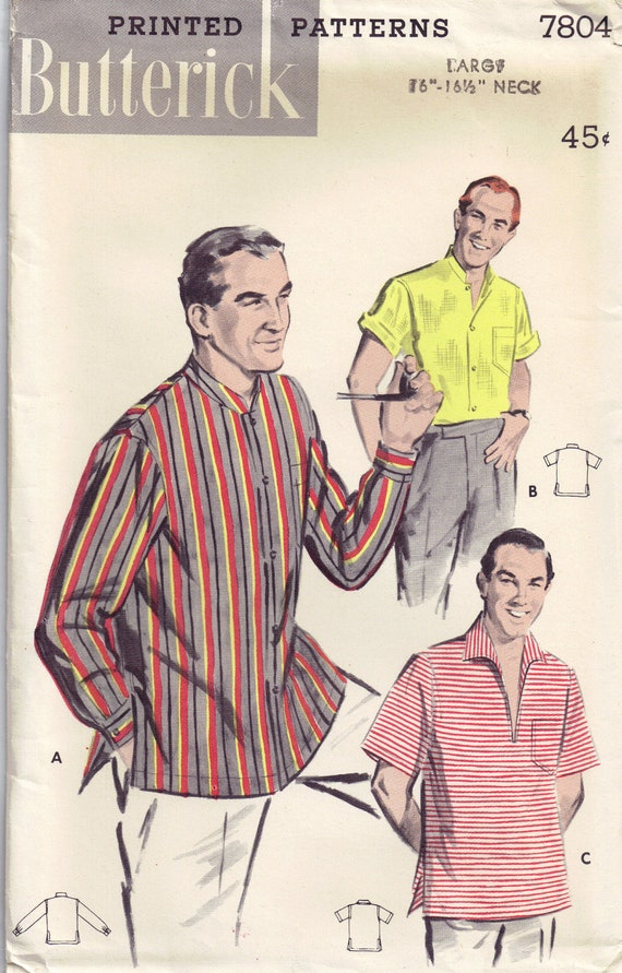 Mandarin Collar Shirts For Men